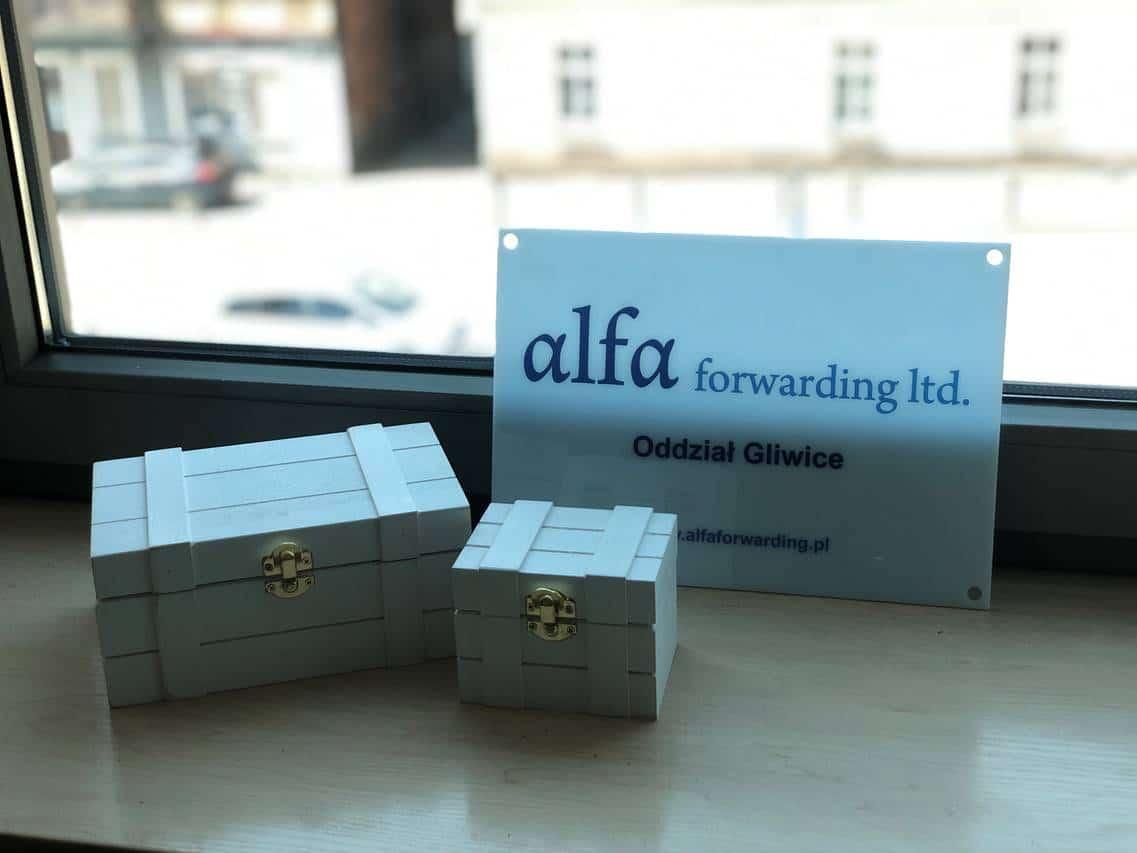 Nowy Oddział Alfa Forwarding w Gliwicach