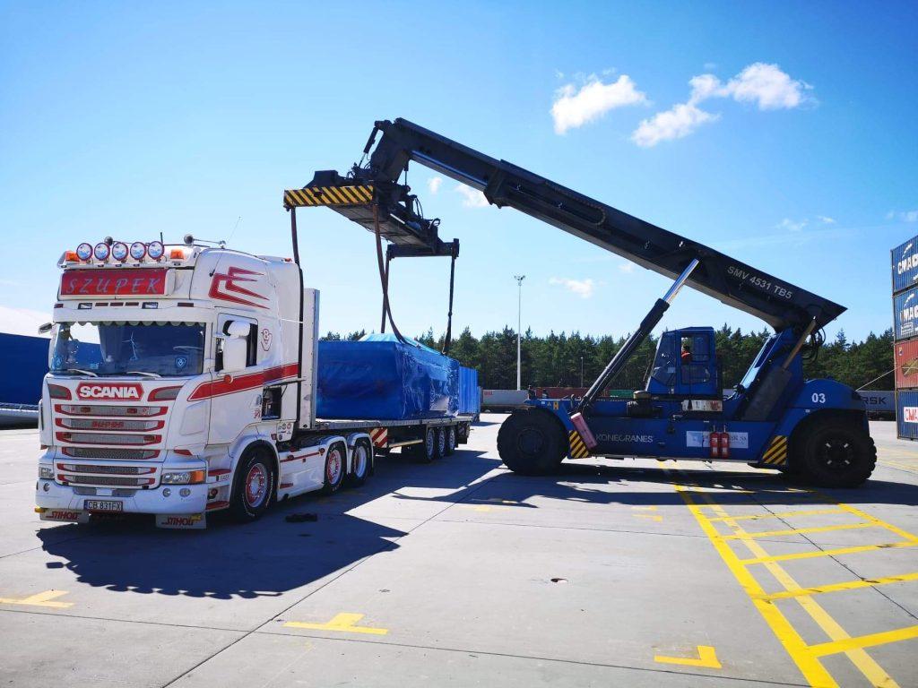 Kolejny ciekawy transport zrealizowany przez Alfa Forwarding